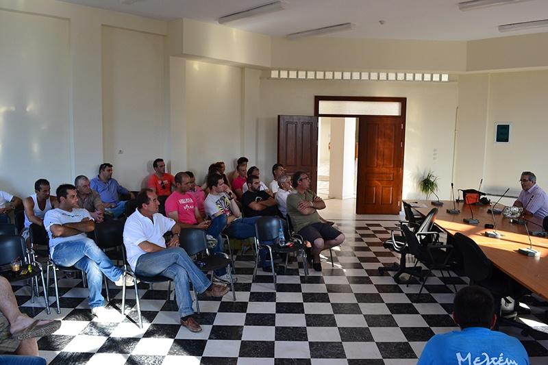 Επίσκεψη του ΠΑΣΚΕΔΙ στην Νέα Αρτάκη Ευβοίας για ενημέρωση των Κ.Υ.Ε. για την Δράση των Οργανισμών Συλλογικής Διαχείρισης