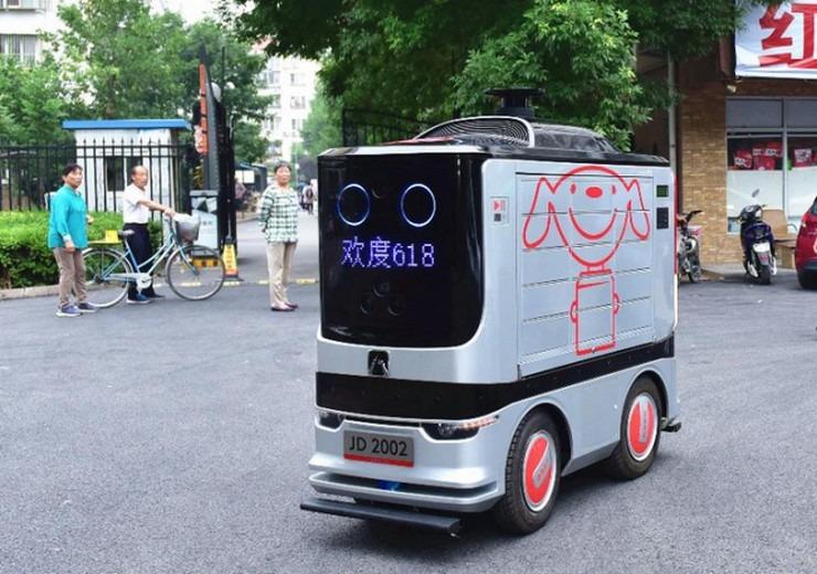 Ρομπότ-«ντελιβεράδες» στους δρόμους του Πεκίνου!