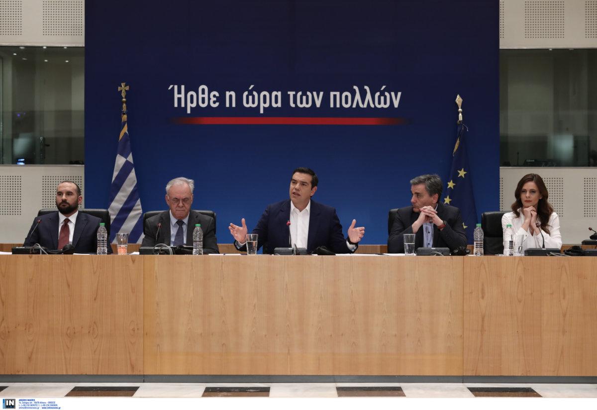 Εξαγγελίες Τσίπρα: μέτρα-ανακούφιση για την ελληνική οικονομία