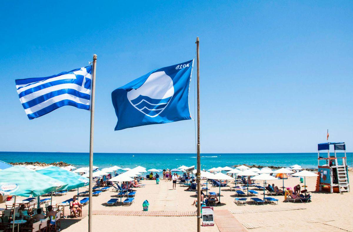 Γαλάζιες σημαίες 2019 - 7ος στην Ελλάδα ο δήμος Αριστοτέλη!