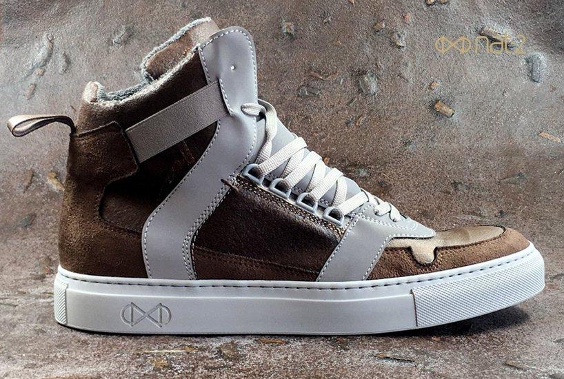 Οικολογικά παπούτσια vegan από ανακυκλωμένα πλαστικά και καφέ