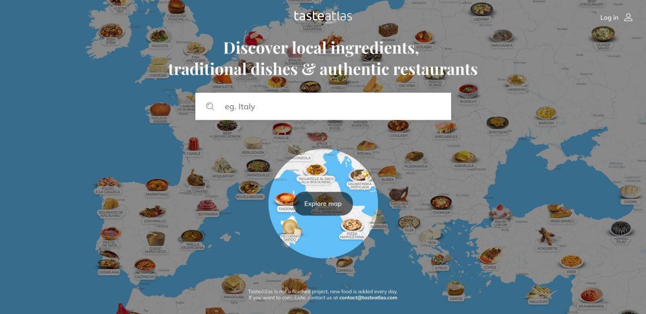 Επέλαση της Ελλάδας στον γαστρονομικό χάρτη της TasteAtlas