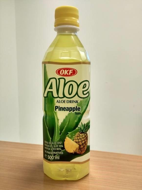 ΕΦΕΤ: Ανάκληση μη ασφαλούς αλόης με γεύση ανανά