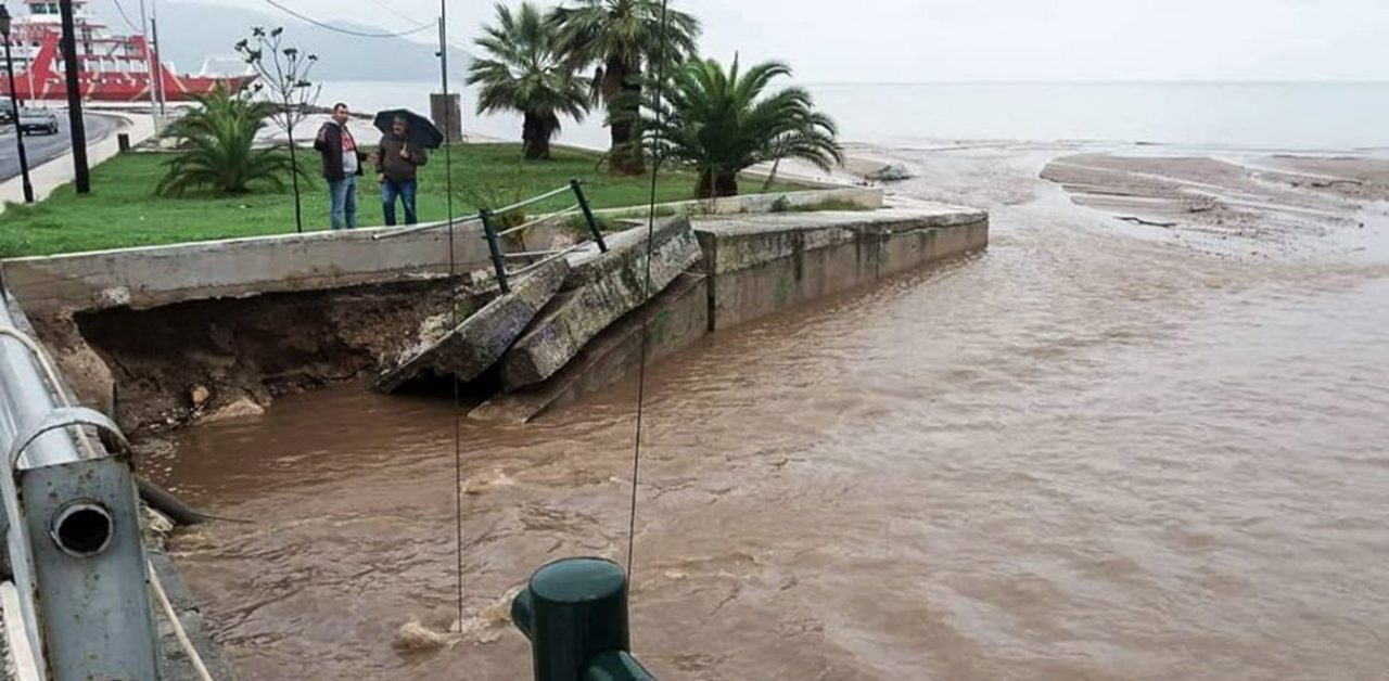 Βιβλικές καταστροφές σε Χαλκιδική και Θάσο - Σε αγωνία οι κάτοικοι - Έρχεται νέο κύμα κακοκαιρίας