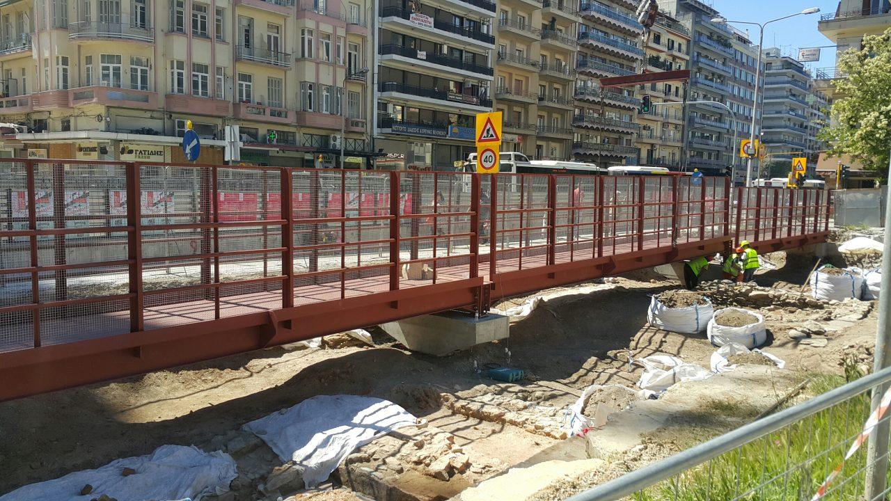 Θεσσαλονίκη: αγωγές για αποζημιώσεις από το δημόσιο ζητούν οι μετρόπληκτοι καταστηματάρχες