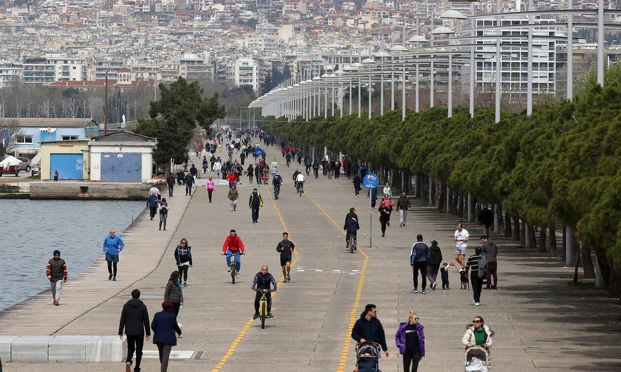 Κορωνοϊός: Τέρμα οι βόλτες στην παραλία της Θεσσαλονίκης - Από σήμερα η απαγόρευση κυκλοφορίας