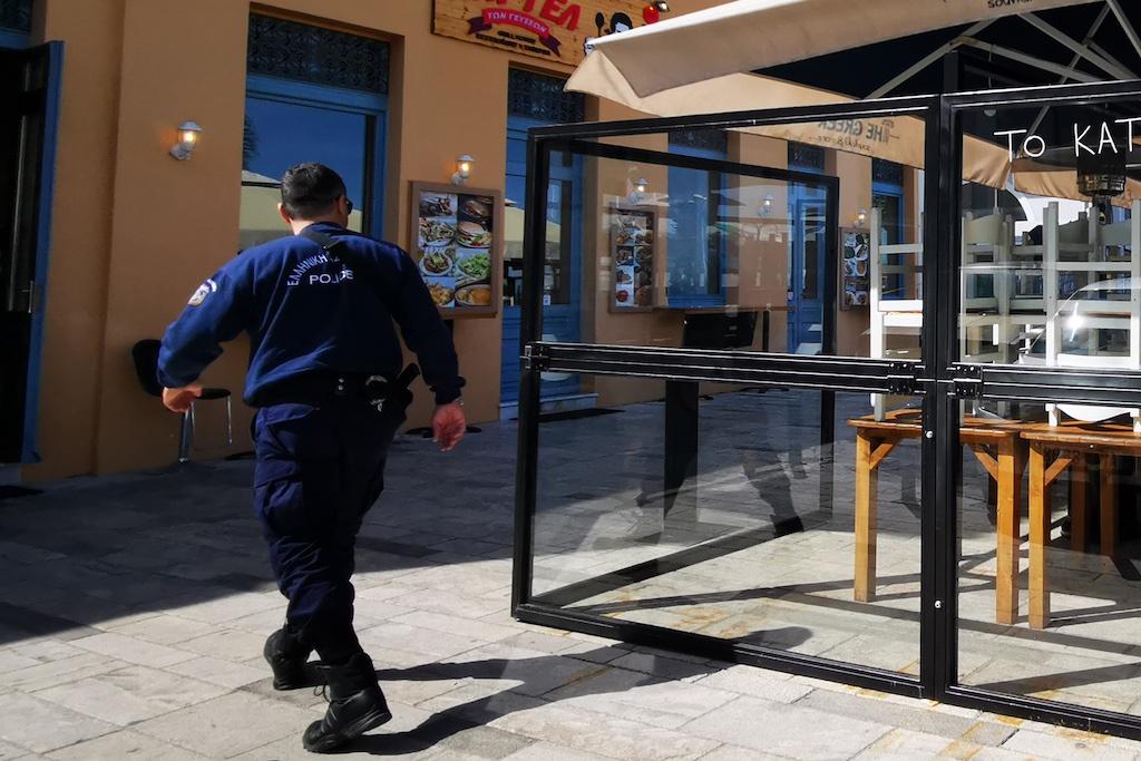Κορωνοϊός: Δύο συλλήψεις για ανοιχτά καταστήματα Εστίασης σε Σέρρες και Χαλκιδική