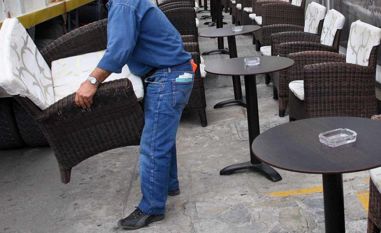 Ξήλωσαν παράνομα τραπεζοκαθίσματα στο κέντρο της Θεσσαλονίκης - Έλεγχος κάθε εβδομάδα